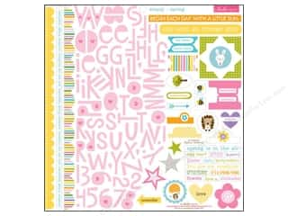 Bella Blvd Stickers Simply Spring Treasures & Text Picture