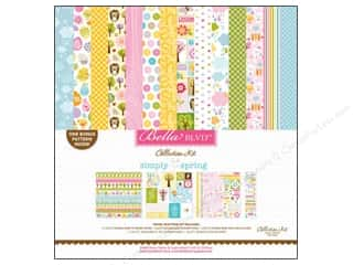 Spring Paper: Bella Blvd Collection Kit Simply Spring