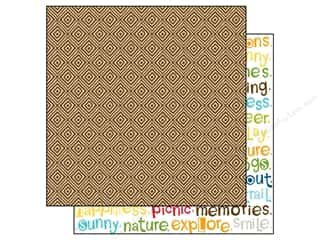 Lakehouse Patterns: Bella Blvd 12 x 12 in. Paper Campout Trail Mix (25 pieces)