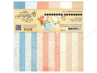 "Bo Bunny Paper Pads 6""x 6"": Graphic 45 Precious Memories Collection Paper Pad 6""x 6"""