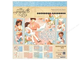 "Weekly Specials Graphic 45 Paper Pad: Graphic 45 Precious Memories Collection Paper Pad 8""x 8"""
