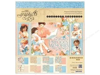 "Weekly Specials Graphic 45 Paper Pad: Graphic 45 Precious Memories Collection Paper Pad 12""x 12"""