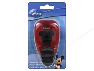 Mickey: EK Disney Punch Paper Shapers Medium Mickey Icon