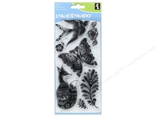 Inkadinkado Clear Stamp Set Fancy Fauna