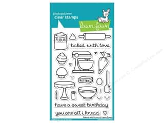 Everything You Love Sale Scrapbooking: Lawn Fawn Clear Stamp Baked With Love