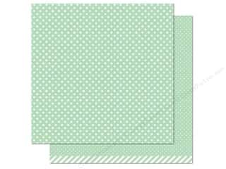 "Weekly Specials Pattern: Lawn Fawn Let's Polka Paper 12""x 12"" Mint (12 sheets)"
