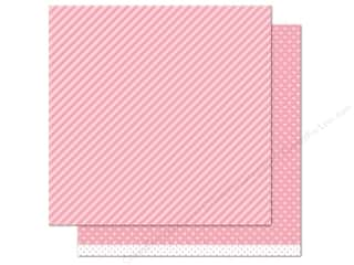 "Weekly Specials Pattern: Lawn Fawn Let's Polka Paper 12""x 12"" Strawberry Line Dance (12 sheets)"