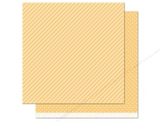 "Weekly Specials Pattern: Lawn Fawn Let's Polka Paper 12""x 12"" Lemon Line Dance (12 sheets)"