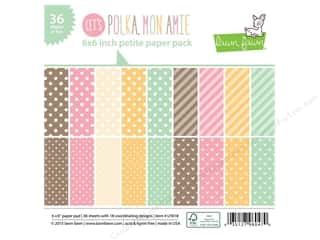 "Weekly Specials Coredinations Cardstock Pack: Lawn Fawn Let's Polka Paper Pack 6""x 6"""