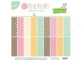 Weekly Specials Paper Packs: Lawn Fawn Let's Polka Collection Pack