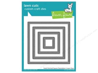 Weekly Specials Stitch Witchery: Lawn Fawn Lawn Cuts Die Small Stitched Square Stackables