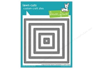 Weekly Specials Stitch Witchery: Lawn Fawn Lawn Cuts Die Large Stitched Square Stackables