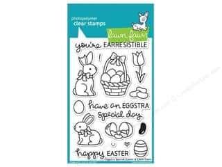 weekly specials: Lawn Fawn Clear Stamp Eggstra Special Easter