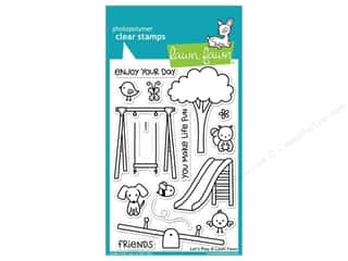 Weekly Specials Stitch Witchery: Lawn Fawn Clear Stamp Let's Play