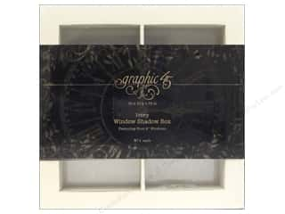 Graphic 45: Graphic 45 Staples Window Shadow Box Ivory