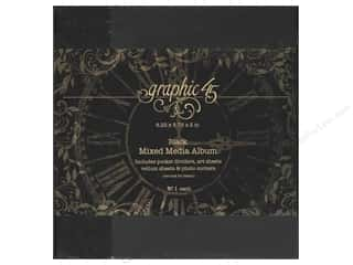 Weekly Specials Graphic 45: Graphic 45 Staples Mixed Media Album Black