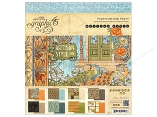 "Weekly Specials Graphic 45 Paper Pad: Graphic 45 Artisan Style Collection Paper Pad 8""x 8"""