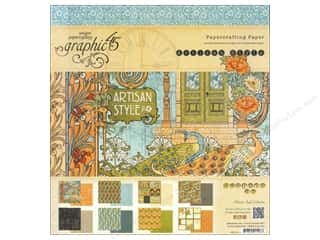 "Weekly Specials Graphic 45 Paper Pad: Graphic 45 Artisan Style Collection Paper Pad 12""x 12"""