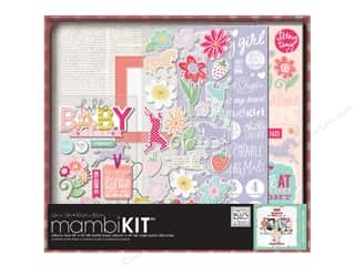 "weekly special coordination: Me&My Big Ideas Album Kit Box 12""x 12"" Baby Girl"