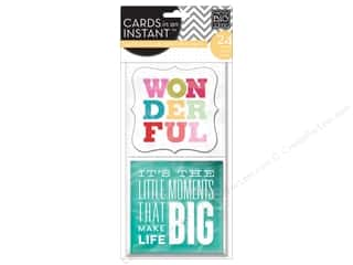 Scrapbooking Sale Me & My Big Ideas Kits: MAMBI Cards In An Instant Wonderful