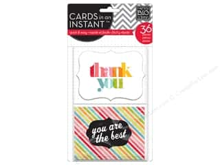 Clearance Me And My Big Ideas Envelopes: MAMBI Cards In An Instant Thank You Bright