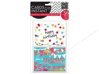 Clearance Me And My Big Ideas Envelopes: MAMBI Cards In An Instant Happy Birthday Primary