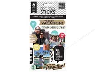 Scrapbooking Sale Me & My Big Ideas Kits: Me&My Big Ideas Sticker We Are On Vacation