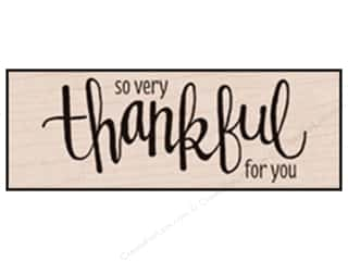 Rubber Stamps: Hero Arts Rubber Stamp Thankful