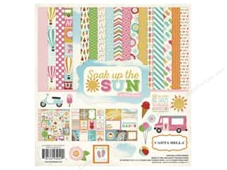 Stock Up Sale Cardstock: Carta Bella Collection Kit 12 x 12 in. Soak Up The Sun