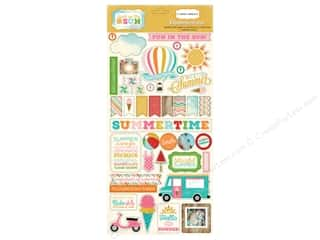 Anniversary Sale-abration Paper Accents Chipboard: Carta Bella Chipboard Accents Soak Up The Sun