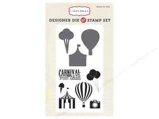 Summer Fun: Carta Bella Designer Die and Stamp Set Soak Up The Sun Carnival Fun