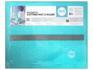 "Weekly Specials Fiskars Eco Cutting Mats: We R Memory Magnetic Cutting Mat & Ruler 18"" Teal"