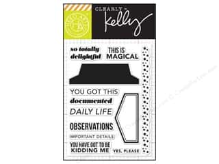 Magic Stamp: Hero Arts Poly Clear Stamps Kelly's Daily Life