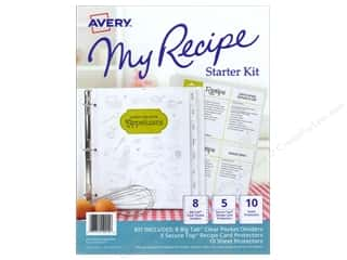 Baking Pans / Baking Sheets: Avery My Recipe Binder Starter Kit