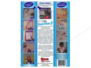 Fusible Web: The Warm Company Steam-A-Seam 2 Fusible Web 9 x 12 in. Sheets 5pc.