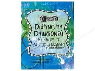 paper craft books: Ranger Distinctly Dylusional Guide to Art Journlng Book