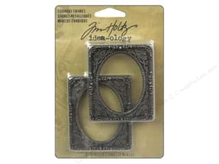 Tim Holtz Idea-ology Foundry Frames 2pc