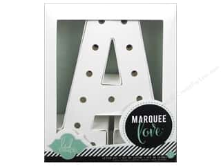 "Lamps: American Crafts Heidi Swapp Marquee Love Letter Kit 8 1/2 in. ""A"""