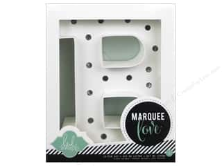"Lamps: American Crafts Heidi Swapp Marquee Love Letter Kit 8 1/2 in. ""B"""