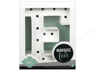 "Lamps: American Crafts Heidi Swapp Marquee Love Letter Kit 8 1/2 in. ""E"""