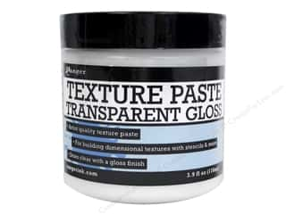 Painting Knife / Palette Knife: Ranger Essentials Texture Paste 3.9oz Transparent Gloss