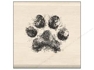 Inkadinkado Wood Stamp Dog Paw Picture