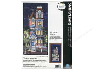 "Dimensions Cross Stitch Kit 8""x 17"" Victorian Charm Picture"