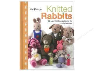 bunny yarn: Search Press Knitted Rabbits Book