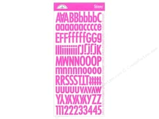 Doodlebug Stickers Alpha Skinny Bubblegum