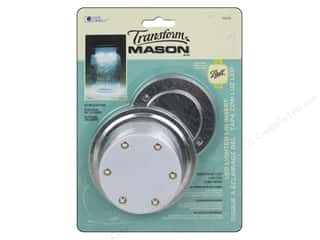 Lights: Loew Cornell Transform Mason LED Lighted Lid Insert