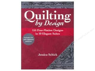 C&T Publishing Quilting By Design Book by Jessica Schick