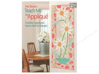 Weekly Specials: That Patchwork Place Pat Sloan's Teach Me To Applique Book