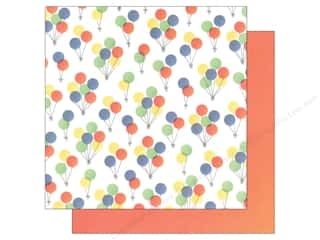 "Party Candles / Birthday Candles: We R Memory Keepers Cakes & Candles Paper 12""x 12"" Balloons (12 sheets)"