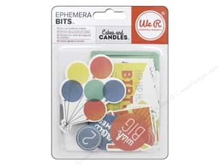 Party Candles / Birthday Candles: We R Memory Keepers Cakes & Candles Ephemera